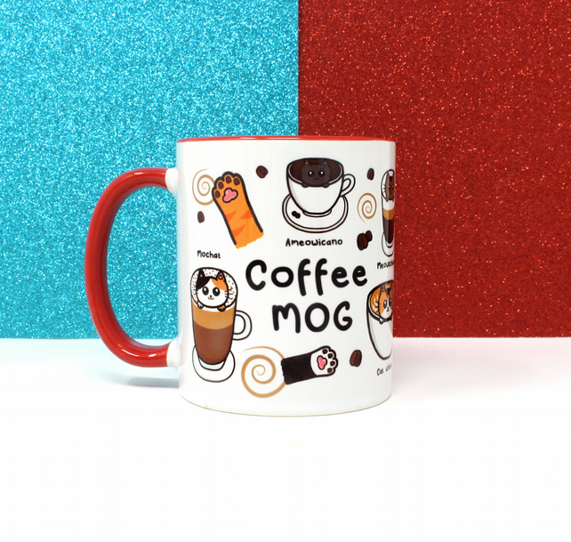 Coffee mog, cat mug, coffee mug, coffee cup, cute mugs, ceramic mug, cat gifts,