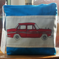 Red Retro Car Wash Bag
