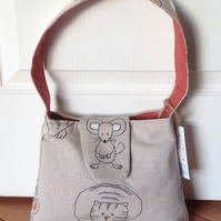 Handbag - Cat and Mouse Design
