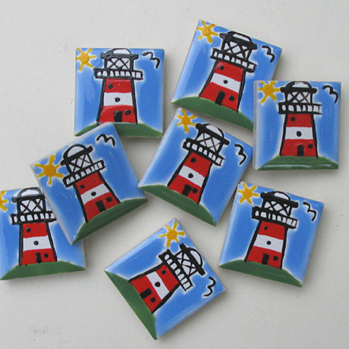 Lighthouse Fridge Magnet