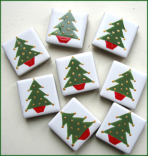 Christmas Tree Magnet