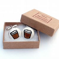 Beer Cufflinks, Men's Gifts, Gift for Dad, For Him, Wedding Cufflinks