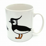 Lapwing Mug, Bird Mug, Tea Mug, Men's Gift, Gifts for Mum