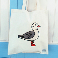 Seagull Bag, Tote Bag, Bird Bag, Seagull Tote, Birds, Cotton Tote, Reusable Bag