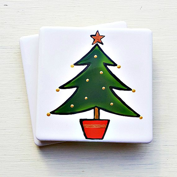 Christmas Tree Coaster