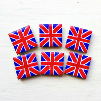 Union Jack Magnet, Fridge Magnet, British Flag Magnet, Tile Magnet