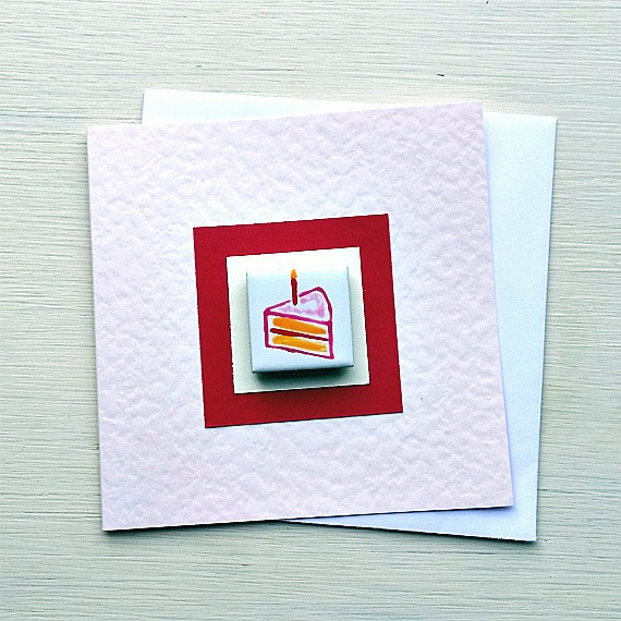 Birthday Card, Celebration Card, Magnet Card, Greeting Card, Blank Card,