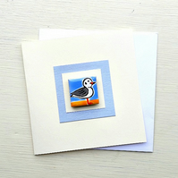 Seagull Card, Birthday Card, Greeting card, Blank Card, Magnet Card