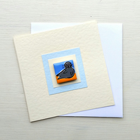 Seal Card, Birthday Card, Greeting card, Blank Card, Magnet Card, Seaside