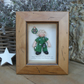 Personalised Paramedic Gift, Female Polymer Clay Framed Figure, Retirement