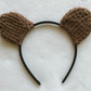 Crochet Ear Hairband Pretend Play