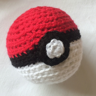 Pokeball - Amigurumi Crochet Pokemon Ball