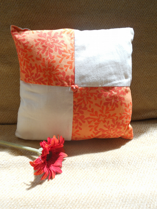 Patchwork Style Shabby Chic Cushion