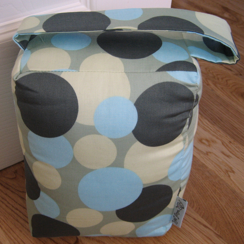 Liberty Blue Circle Print Door Stop