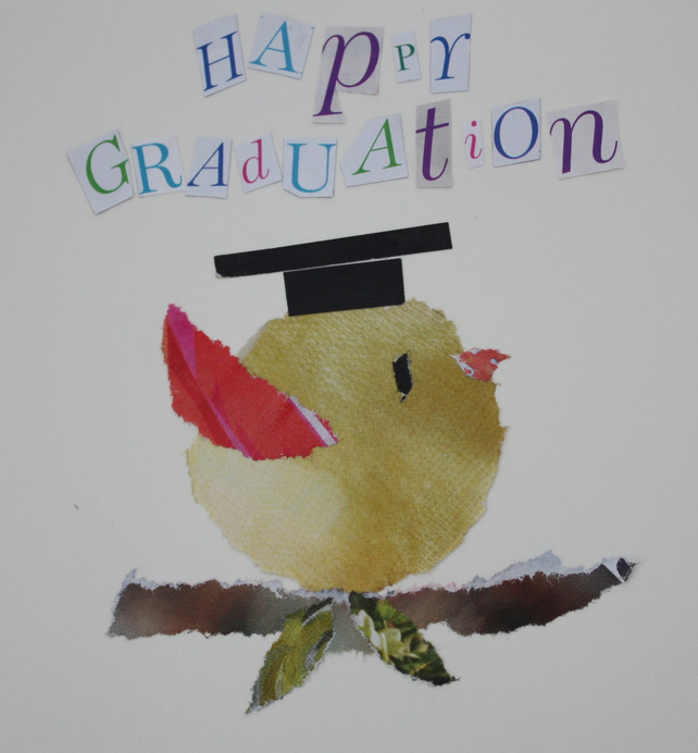 'Graduation' greetings card