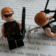 HAWKEYE LEGO CUFF LINKS