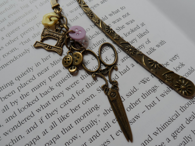 Bronze Dressmaker Bookmark