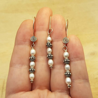 Fresh water pearl jewellery set. Pendant and Earring gift set. June Birthstone.