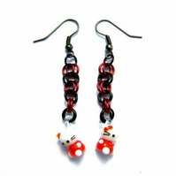 Hello Kitty style Earrings - PIF, Pay it Forward