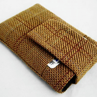Ipod  Mobile Phone Digital Camera Case Brown Check