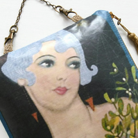Waterproof Art Deco Hanging Storage Bag
