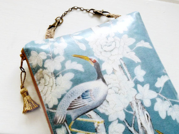 Chinoiserie Hanging Cosmetic Bag