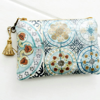 Waterproof Tile Print Purse