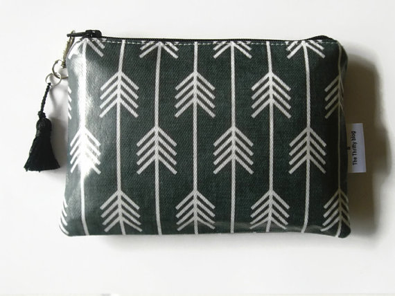 Arrow Print Ladies Wallet Phone Purse