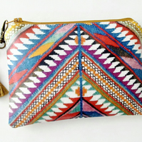 Ethnic Inspired wallet purse clutch