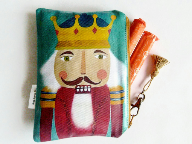 Waterproof Nutcracker Tampon wallet purse bag pouch