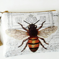 Waterproof Bee Print Wallet