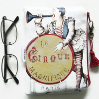 Vintage Circus  Glasses Bag