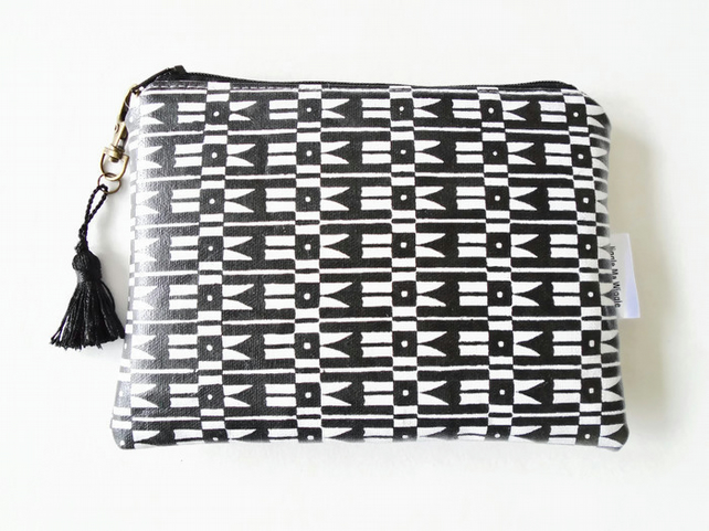 tribal purse wallet