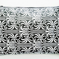 Art Nouveau Oversized Clutch Purse Bag Cosmetics Travel
