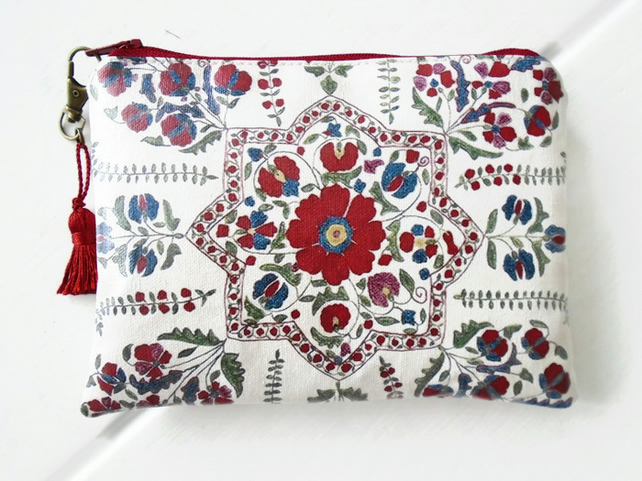 Waterproof Folky Floral Wallet