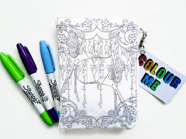 Colour-In Womens Wallet
