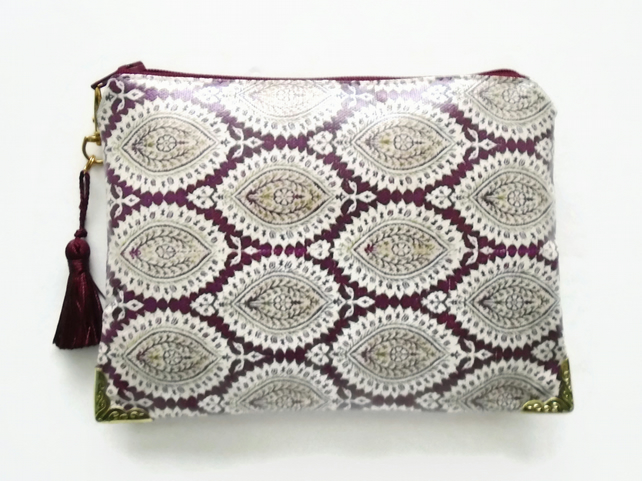 Waterproof Indian Print Wallet