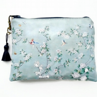 Humming Bird and Cherry Blossom Waterproof Wallet