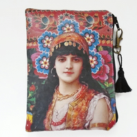 Boho Gypsy Wallet, Purse, Bag, Pouch