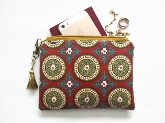 Waterproof Gypsy, Boho Ladies Clutch purse wallet