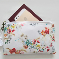 Waterproof Floral Print Purse