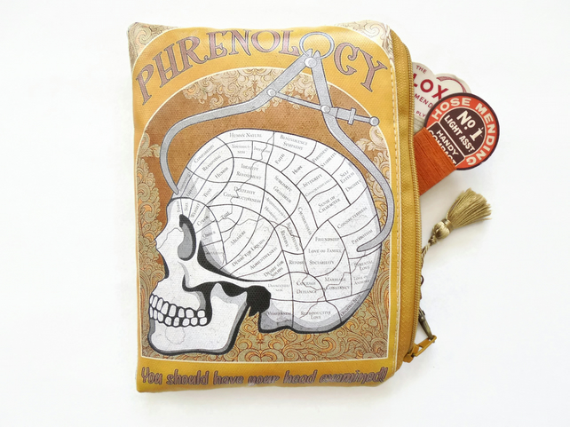 Waterproof Phrenology Storage Wallet