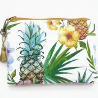 Waterproof Pineapple Wallet, Purse,Sleeve