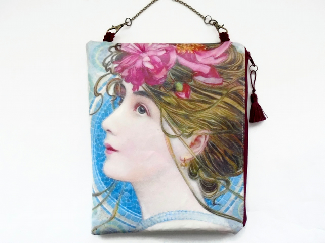 Large waterproof  Hanging Cosmetic Bag 1900s
