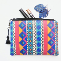 Waterproof pouch american indian, navajo, american indian, tribal ,aztec purse