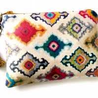 waterproof pouch Ikat Ladies Wallet Purse