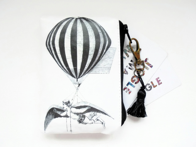 Waterproof Aerialist, credit card wallet, business card holder, coin Purse