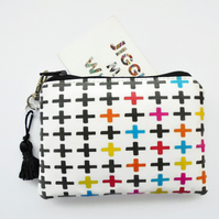 Waterproof plus sign, crosses credit card wallet, business card holder,