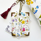 Botanical Print  Luggage Tags