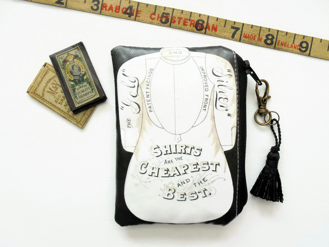 Waterproof sewing theme, credit card wallet, business card holder, lipstick bag